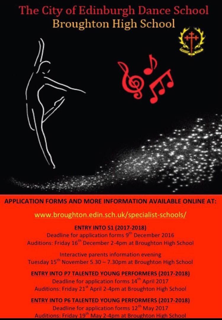 dance programme