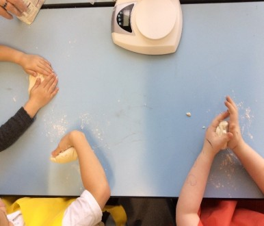 Pi bread making